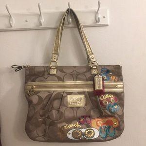 Coach Daisy Poppy Pop C Tote Bag